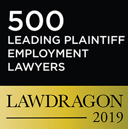 LawDragon 500 Leading Plaintiff Lawyer badge