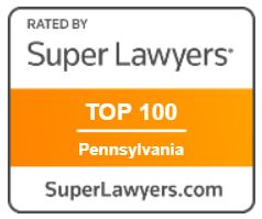 Super Lawyers Top 100 badge