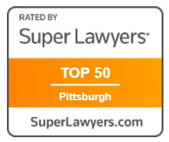 Super Lawyers Top 50 badge