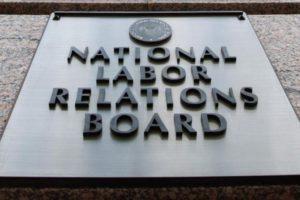 NLRB sign