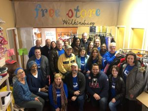 Volunteers for Free Store Wilkinsburg