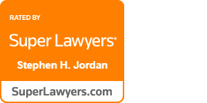 Steve Jordan Superlawyers badge
