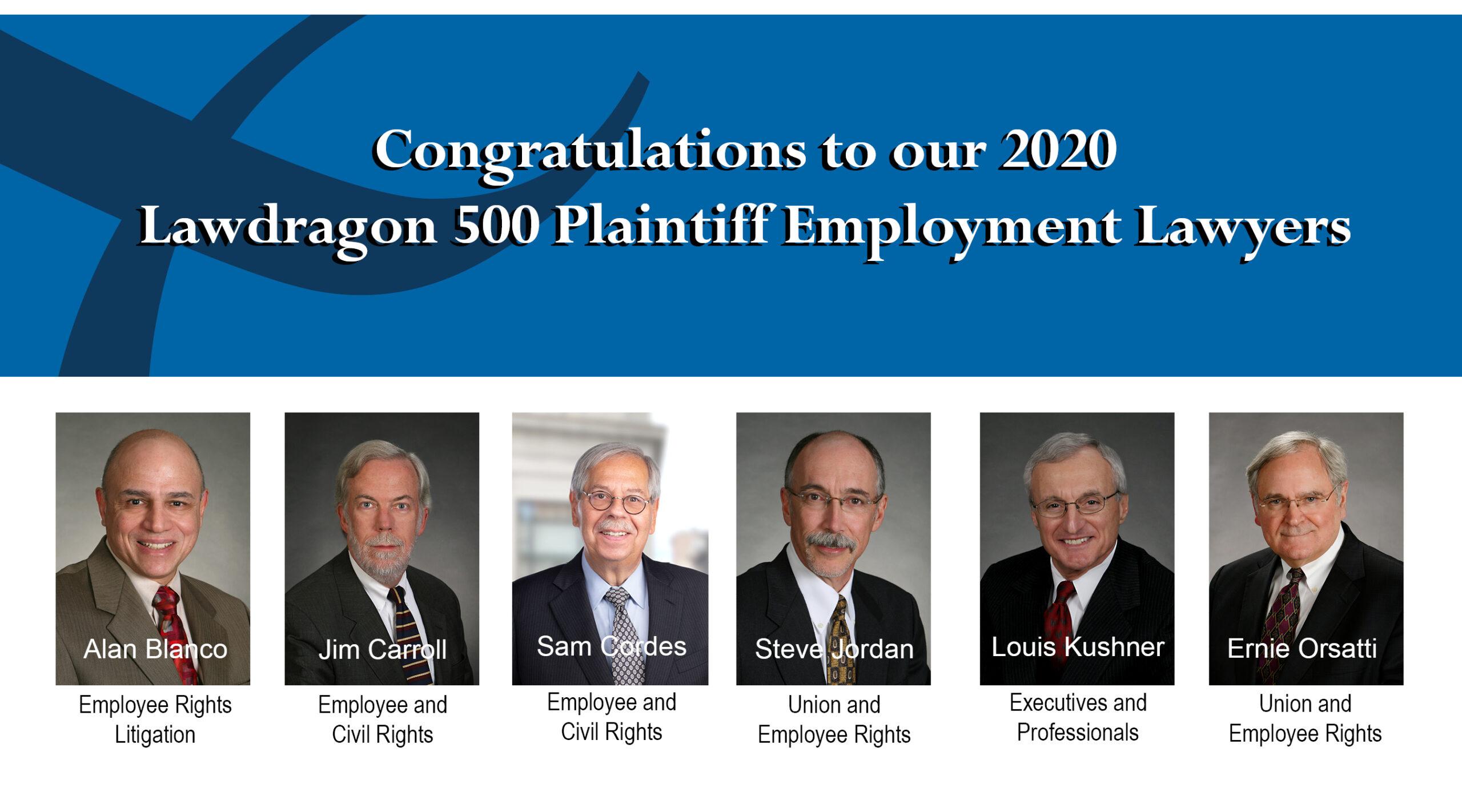 lawdragon congratulatory image