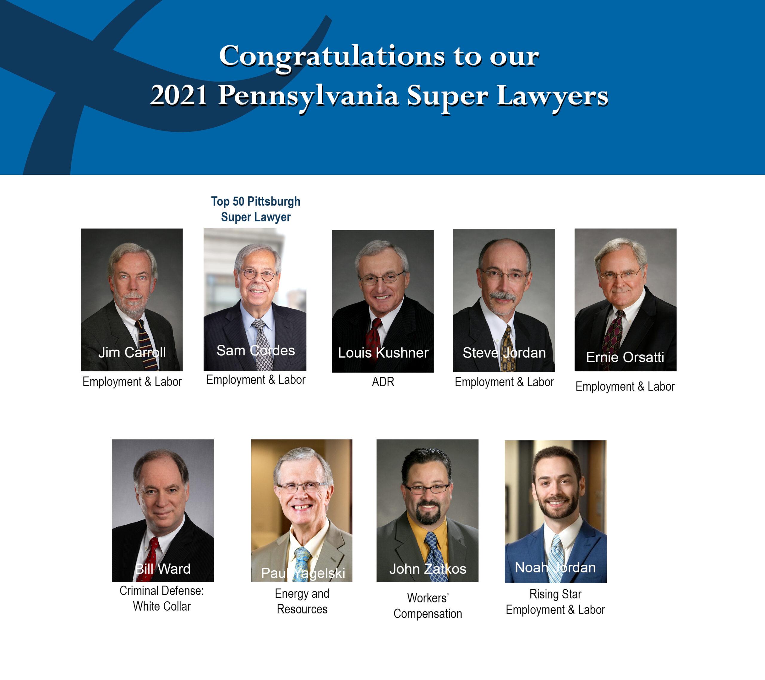 9 Super Lawyers